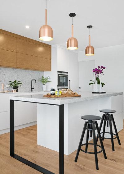 Contemporary Kitchen by Astoria Designs
