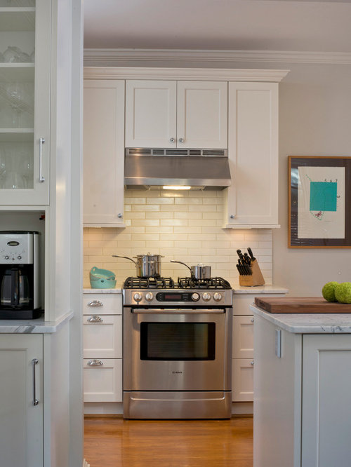 Hood cabinet houzz - Kitchen hood under cabinet ...