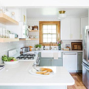 Tennessee Tudor Kitchen