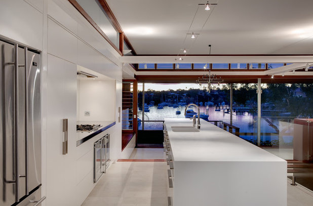 Trendy Køkken by CplusC Architectural Workshop