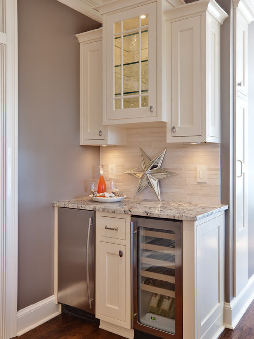 Traditional Kitchen Pictures   Elegant Kitchen Photo In Atlanta With Shaker  Cabinets, White Cabinets, Part 48