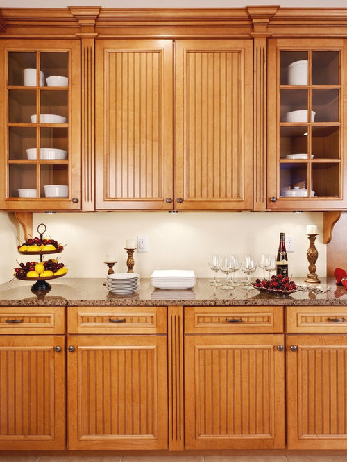 Glass Front Cabinets Kitchen Design Ideas Renovations