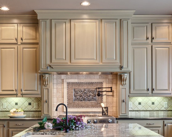 Kitchen Backsplash Medallions backsplash medallion | houzz