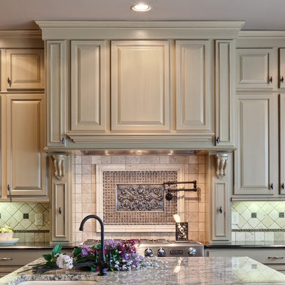 Atlanta Home spanish style kitchens tile Design Ideas, Pictures ...