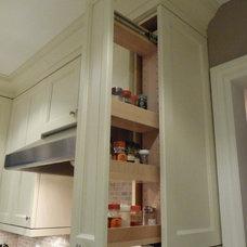 Transitional Kitchen by Diana Mezei
