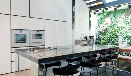 Kitchen Tour:  Raw Meets Modern-Luxe in This Open-Plan Cookspace