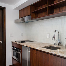 Contemporary Kitchen by Keiffer Phillips - Patricia Brown, Builders  Inc.