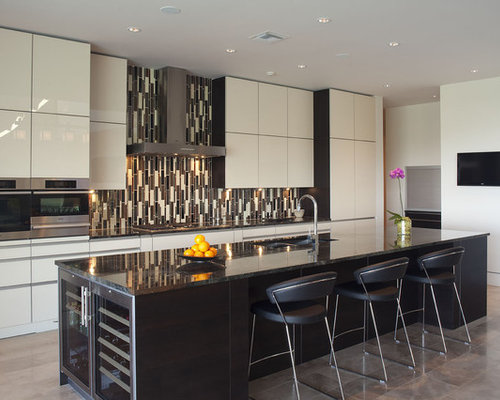 images kitchen tiles wine cooler in island houzz 1817