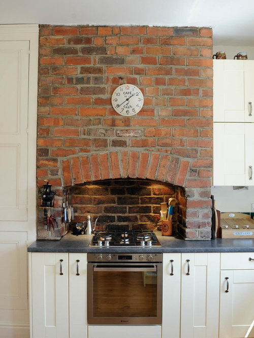 kitchen design around chimney breast kitchen chimney breast home design ideas renovations amp photos 945