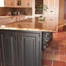 Kitchen by Rustico Tile and Stone