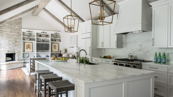 Terrell Hills White Kitchen