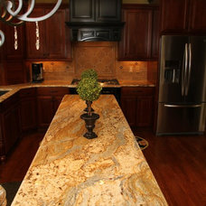 Traditional Kitchen by Triton Stone Group of Nashville