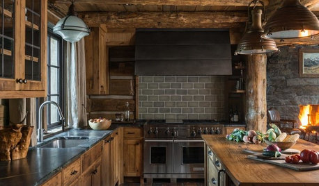 New This Week: 3 Kitchens With Wonderfully Rustic Character