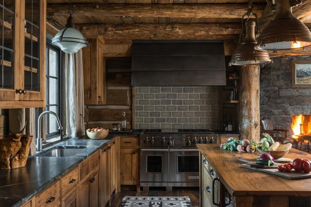 Rustic Kitchen by Yellowstone Traditions