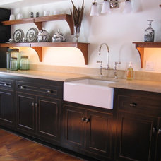 Traditional Kitchen by Tewksbury Design