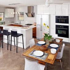 Modern Kitchen by Universal Joint Design Associates