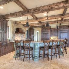 Mediterranean Kitchen by Crawford Luxury