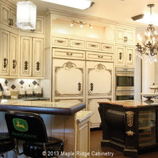 Traditional Kitchen by Maple Ridge Cabinetry