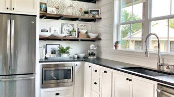 Texas Farmhouse Kitchen