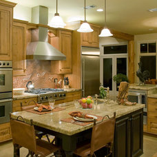 Traditional Kitchen by Urban Kitchens and Baths, Inc.