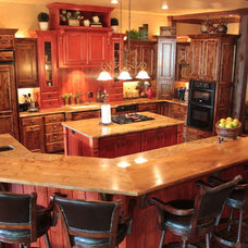 Traditional Kitchen by Baker Design Group