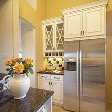 Mediterranean Kitchen by Prideaux Design