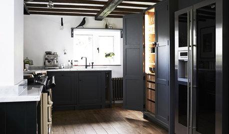 Moderner Landhausstil: Eine Cottage-Küche vereint Gegensätze