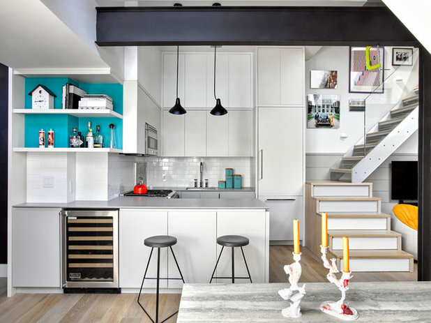Contemporary Kitchen by AMMOR Architecture LLP