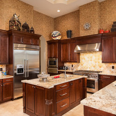 Mediterranean Kitchen by Howard Torn Construction