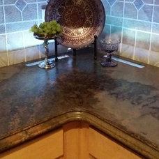 Modern Kitchen by All Star Concrete