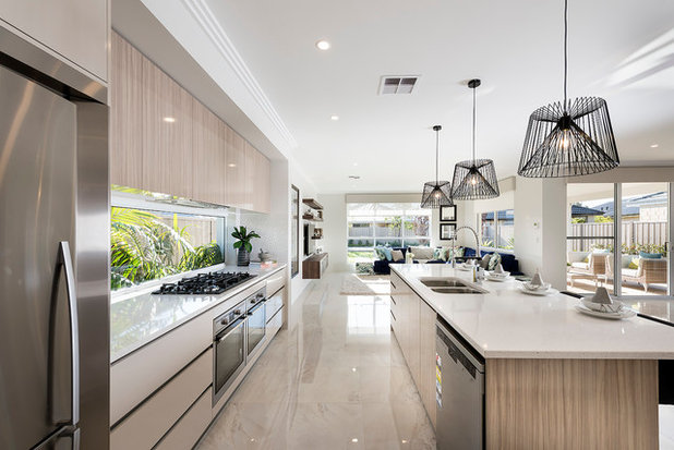 Contemporary Kitchen by Ben Trager Homes