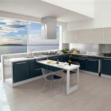 Contemporary Kitchen by La Strada