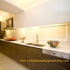 Contemporary Kitchen by Clifton Leung Design Workshop - CLDW.com.hk