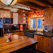 Rustic Kitchen by Reitz Restoration & Home Construction