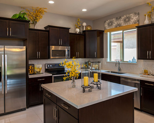 Kitchen decor design ideas remodel pictures houzz - Modern kitchen design and decor ...