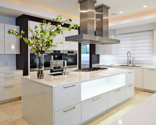 Best wok kitchen design ideas remodel pictures houzz for Cuisine ouverte 12m2