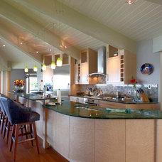 Contemporary Kitchen by JC Scott eco Design