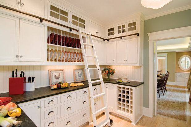 American Traditional Kitchen by Windover Construction