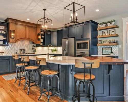 Our 25 Best Transitional Kitchen Ideas | Houzz