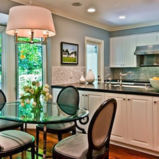 Transitional Kitchen by The Black Door