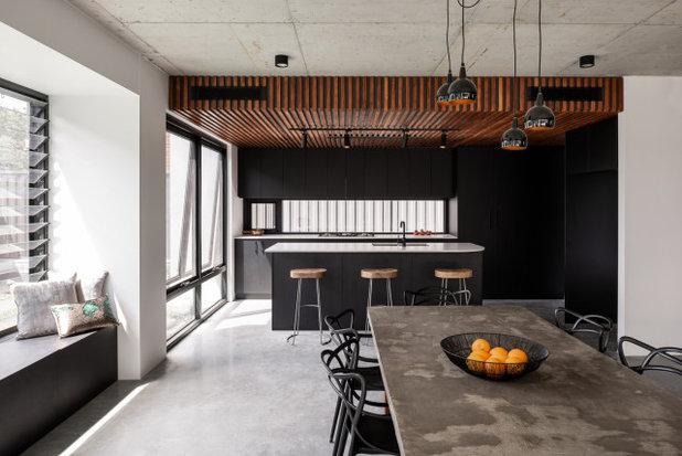 Industrial Kitchen by Dalecki Design