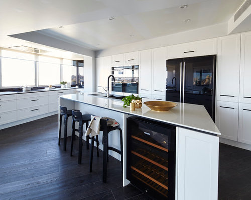 Black Timber Floors Home Design Ideas, Pictures, Remodel and Decor