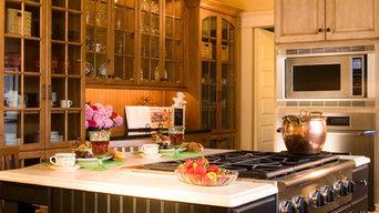 the bohemian kitchen of Gozan Interiors