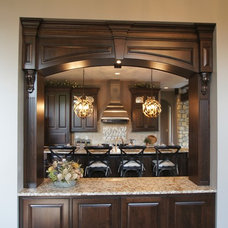 Transitional Kitchen by Designs on Madison