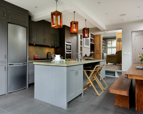 Best Dark Kitchen Cabinets Design Ideas & Remodel Pictures | Houzz