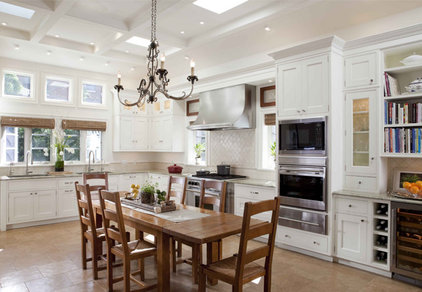 Traditional Kitchen by The Breakfast Room, Ltd