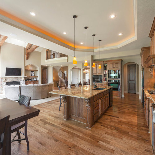 Kitchen Ideas For Open Floor Plans In Trailor