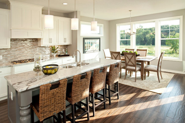 Transitional Kitchen by Robert Thomas Homes