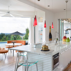 modern kitchen by Alan Mascord Design Associates Inc