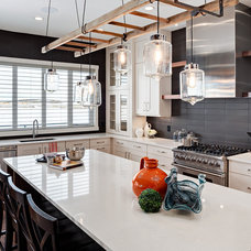 Transitional Kitchen by Trickle Creek Custom Homes